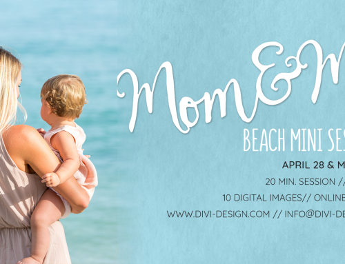 Mommy & Me Mini Sessions are coming up!