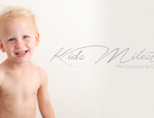 Kids Milestone Mini session